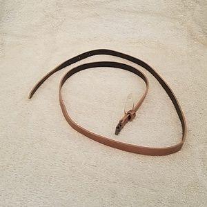 Accessories - Womens Fashion Rose Gold Belt